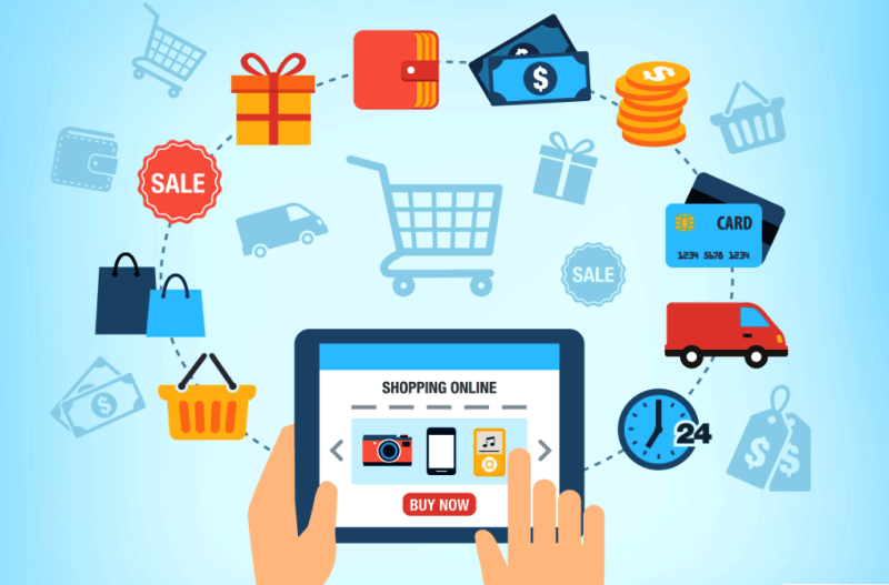 E-commerce offers opportunities for consumers