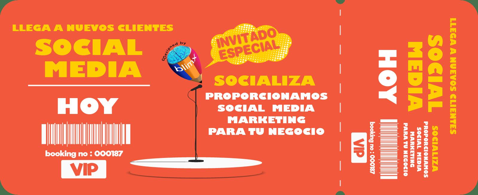 Servicio de Marketing en Redes Sociales