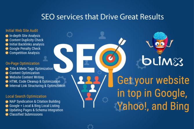 Get your website in top in Google, Yahoo! and Bing