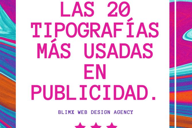 Las 20 Tipografías más usadas en publicidad