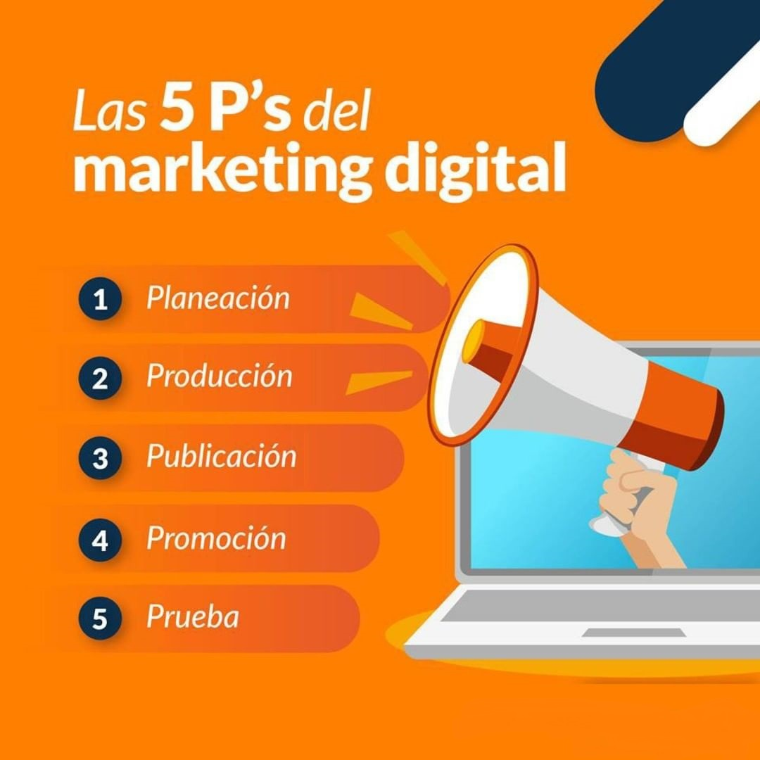 Las 5 P´s del marketing digital