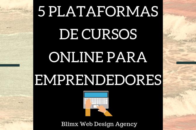 5 plataformas de cursos online para emprendedores