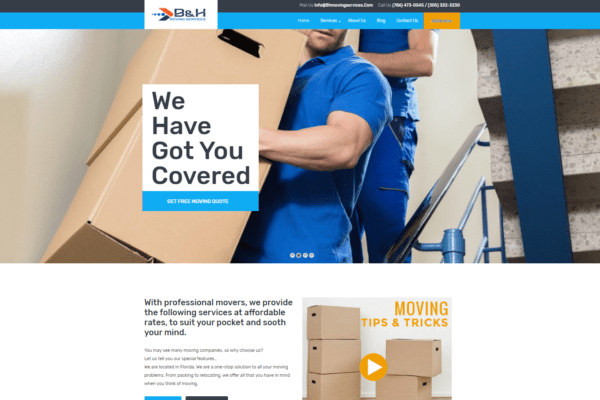 BH Moving Services